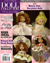 Contemporary Doll Collector Magazine March 2008