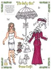 PJ's Sally Ann paper doll in Contemporary Doll Collector Magazine